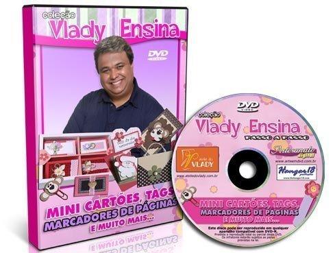 Vlady Ensina - Mini Cartões, tags, marcadores e muito mais