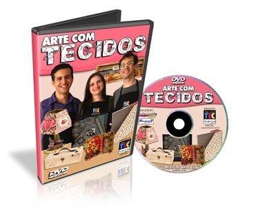 DVD - Arte em tecidos Toke e Crie