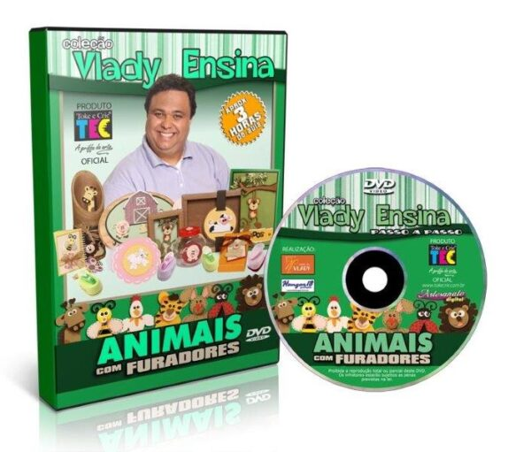 DVD Vlady Ensina: Animais com Furadores