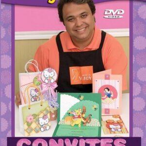 DVD Vlady Ensina: Convites Infantis