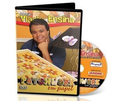DVD Vlady Ensina: Patchwork em Papel
