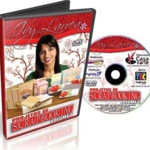 DVD Projetos de Scrapbook Volume 2