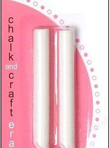 American Crafts : Pebbles Inc. : CHALK AND CRAFT ERASER REFILLS