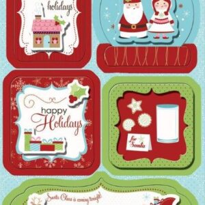 Happy Holiday Sticker Stackers - Imaginisce