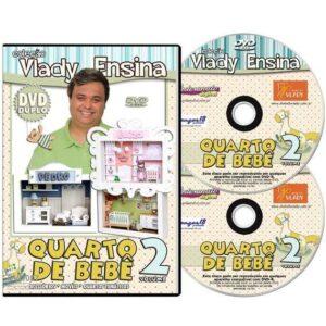 DVD Vlady Ensina: Quarto de Bebê Volume 2 - DVD DUPLO