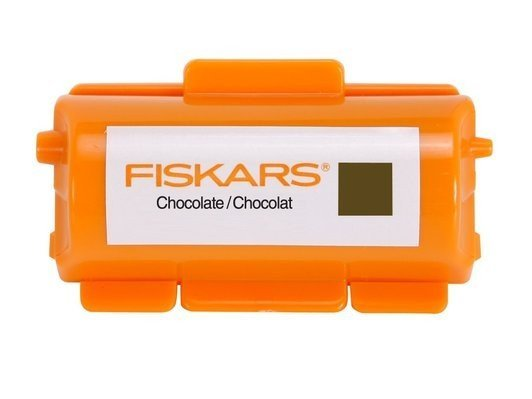 Fiskars Continuous Stamp Wheel Ink Cartridge - Chocolate
