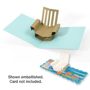 Faca de corte para sizzix - Sizzix Bigz XL Die - Chair, Beach 3-D (Pop-Up)