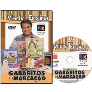 DVD Vlady Ensina - Projetos com Gabaritos de Marcação