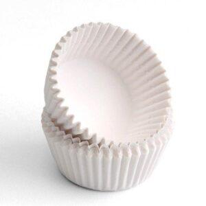 Forminhas para assar na máquina de cupcakes
