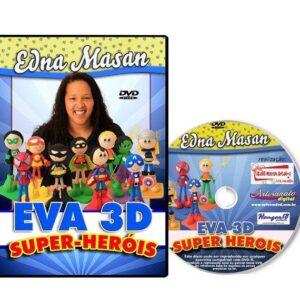 DVD - Edna Massan - EVA 3D - SUPER-HERÓIS