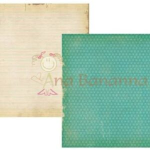 Papel para scrapbooking Simple Stories Fabulous teal dot notebook 2117