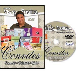 DVD Vlady Ensina: Convites para Casamento Debutantes Bodas
