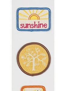 Amy Tangerine Live & Love Patch 'Ems Embroidered Embellishments