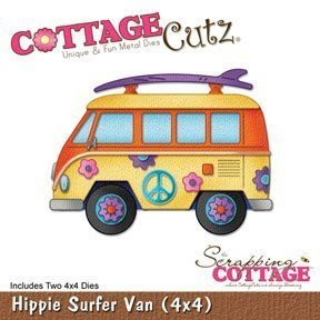 CottageCutz Hippie Surfer Van