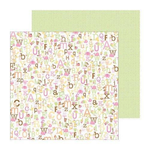 Papel para scrapbooking Doodlebug alphababies 3240