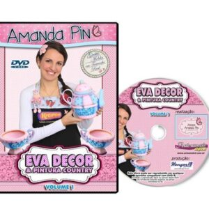 DVD - EVA DECOR com Amanda Pin