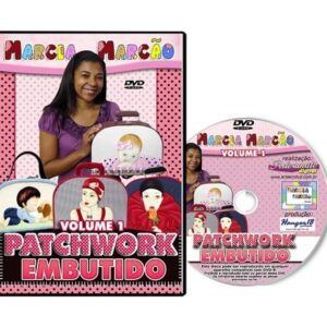 DVD - Patchwork Embutido - Volume 1