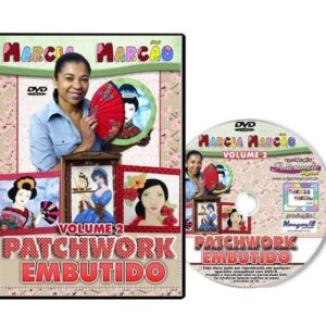 DVD - Patchwork Embutido - Volume 2