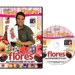 DVD Vlady Ensina : Flores com Furadores By Vlady