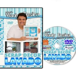 DVD Vlady Ensina: Scrap Decor Lavabo