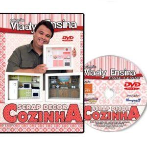 DVD Vlady Ensina: Scrap Decor Cozinha
