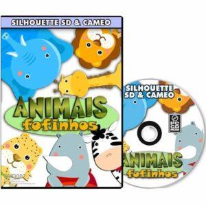 Animais Fofinhos - Silhouette SD / Cameo