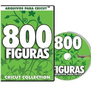 800 Figuras para Cricut