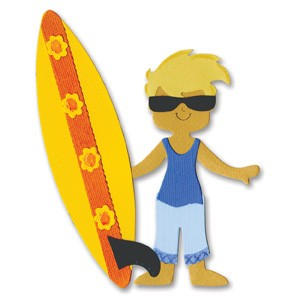 Sizzix Bigz Die - Dress Ups Surfer Outfit by Stu Kilgour