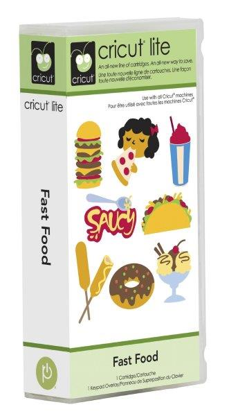 Cartucho para Cricut Provo Craft fast Food