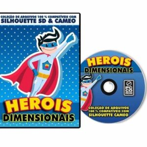 Silhouette Cameo - Herois Dimensionais
