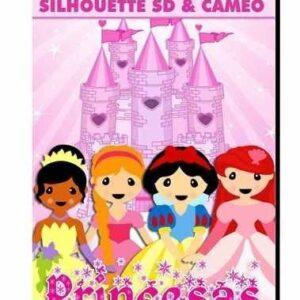 Projeto Princesas - Silhouette Cameo / Sd