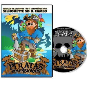 Silhouette Cameo - Piratas Dinensionais