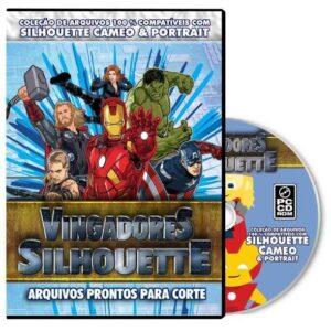 Os Vingadores - Projeto para Silhouette