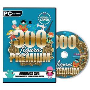 300 Figuras Premium para Silhouette