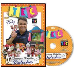 DVD Vlady Ensina: Educacional Dedoches