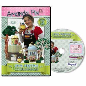 DVD Amanda Pin - EVA FESTA - FESTA DAS CORUJINHAS