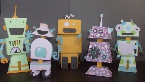 Cartucho para Cricut Provo Craft Robot Party