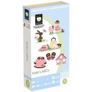 Cartucho para Cricut Provo Craft Kates ABCs