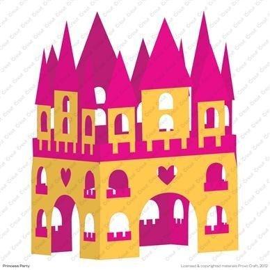 Cartucho para Cricut Provo Craft Princess Party