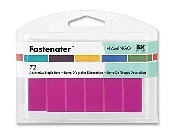Grampo Fastenator (72 pçs) - Flamingo