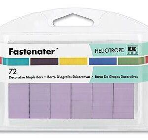 Grampo Fastenator (72 pçs) - Heliotrope (lilas)