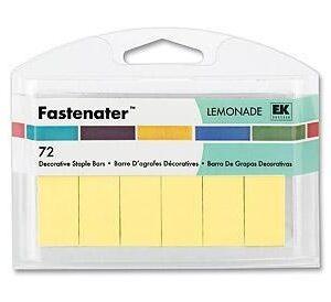 Grampo Fastenator (72 pçs) - Lemonade
