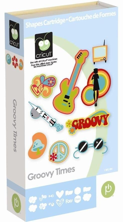 Cartucho para Cricut Provo Craft Croovy Times