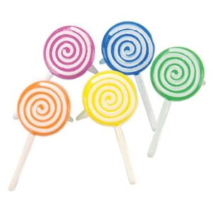 Eyelet Outlet Brads-12PK/Lollipop