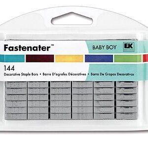 Grampo Fastenator (144 pçs) - Baby Boy
