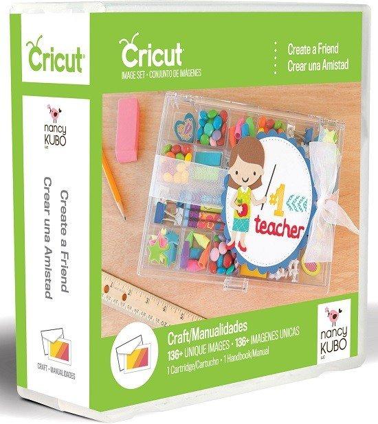 NEW Provo Craft Cricut Cartridgcut CREATE A FRIEND Cartridgee - Cri