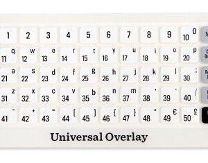 Cricut Universal Overlay - Teclado universal para Cricut