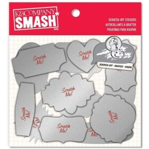 Smash - Holiday Scratch-Off Stickers