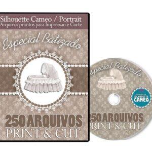 Coleção Print & Cut - Silhouette - Batizado