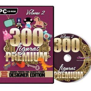 300 Figuras Premium para Silhouette - Volume 2